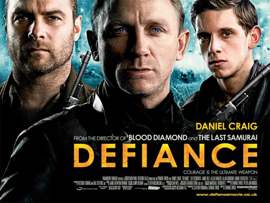 หนังเรื่อง Defiance movie