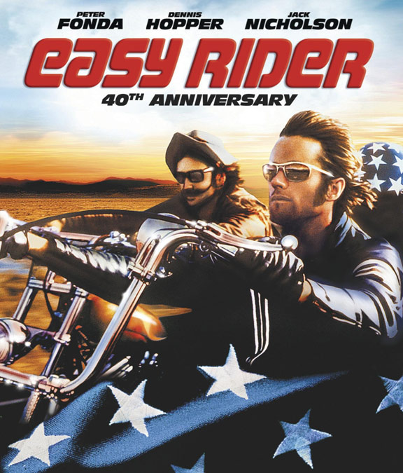 "EASY RIDER"" (1969) – 1 1/2 STARS Easy Rider Movie Poster"