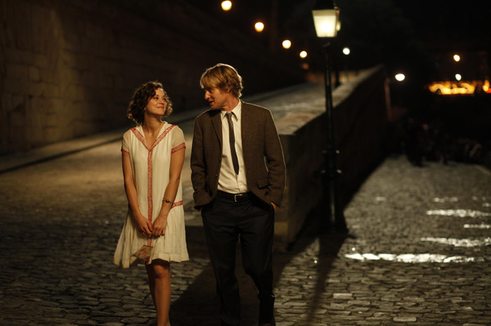midnight in paris, marion cotillard, owen wilson