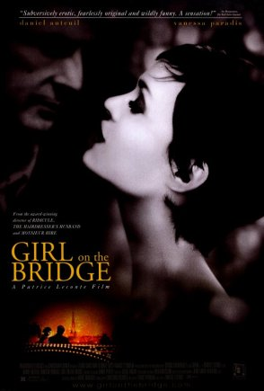 GIRL ON A BRIDGE Poster