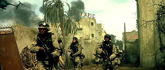 a review of the movie black hawk down Reviews director ridley scott turns from the epic sprawl of the blockbuster   what's most gratifying about black hawk down is the filmmakers'.