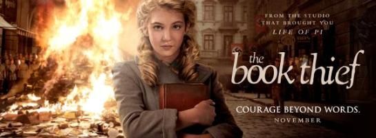 BOOK THIEF POSTER
