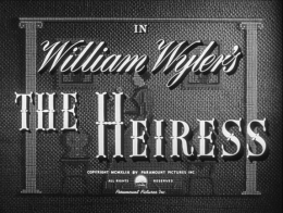 """REVIEW: """"The Heiress"""""""