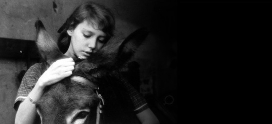Anne Wiazemsky as Marie in Robert Bresson's AU HASARD BALTHAZA