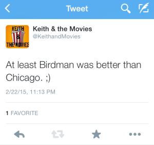 TEXT BIRDMAN NO GOOD