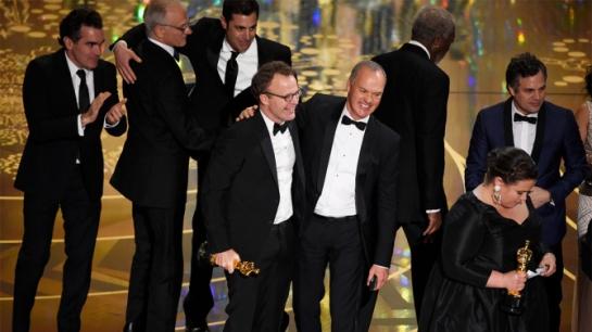 Tom McCarthy, Michael Keaton