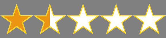 1.5 stars
