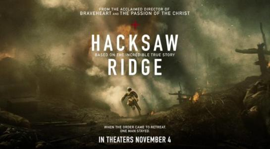 "Movies 2016 Posters: REVIEW: ""Hacksaw Ridge"""