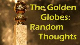 Random Thoughts: 2018 Golden Globes