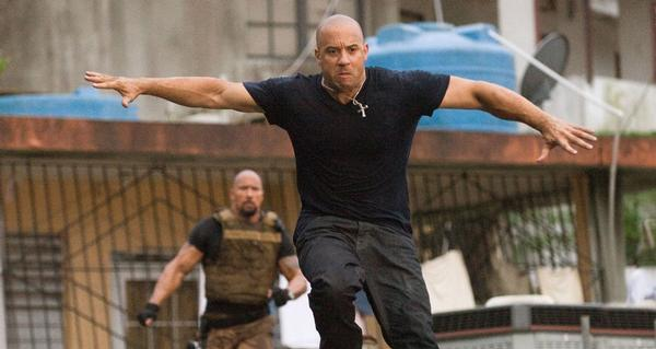 Vin Diesel star as Dominic Toretto in Universal Pictures' Fast Five.